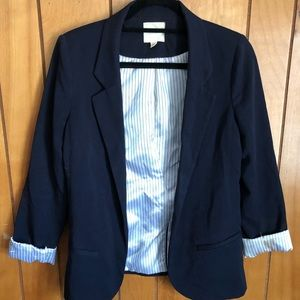 Urban Outfitters navy blue blazer